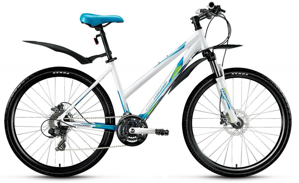 Велосипед горный Forward Jade 3.0 2016, цвет: белый, рама 17, колесо 26275362