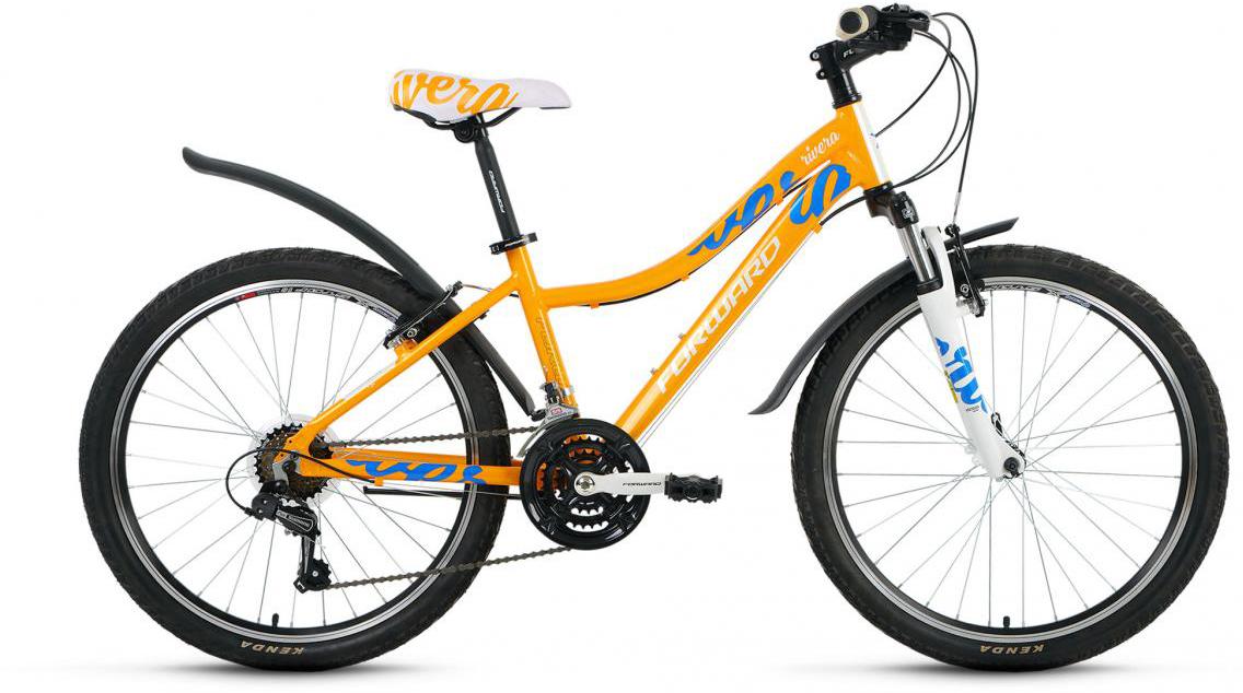 Велосипед детский Forward Rivera 1.0 2016, цвет: желтый, рама 14, колесо 24275367