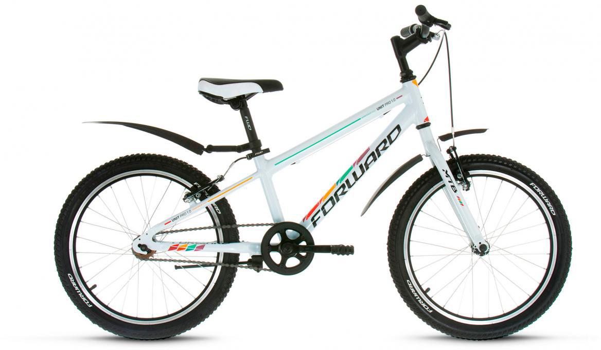 Велосипед детский Forward Unit Pro 1.0 2017, цвет: белый, рама 10,5, колесо 20279283