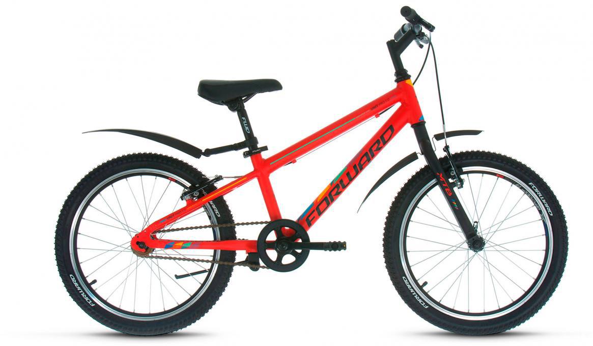 Велосипед детский Forward Unit Pro 1.0 2017, цвет: красный, рама 10,5, колесо 20279284