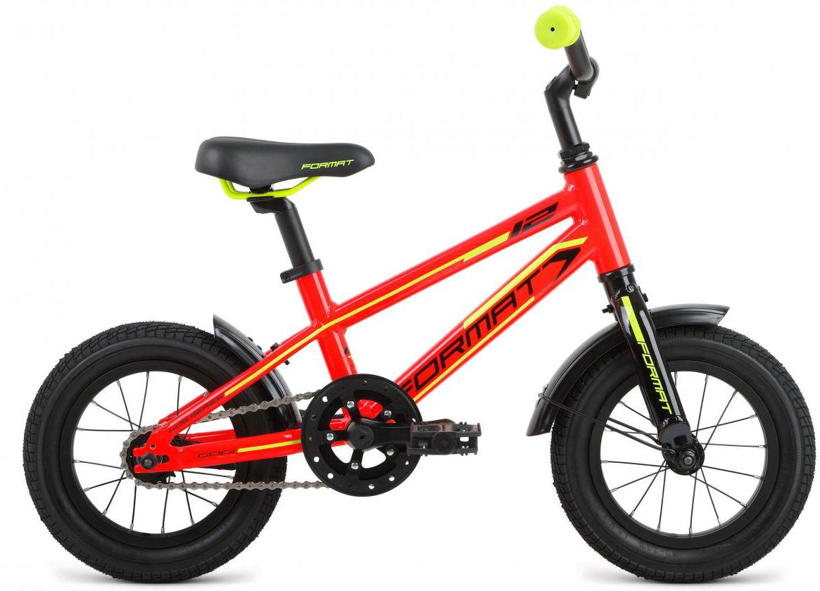 Велосипед детский Format Kids Boy (2017), цвет: красный, колесо 12279288