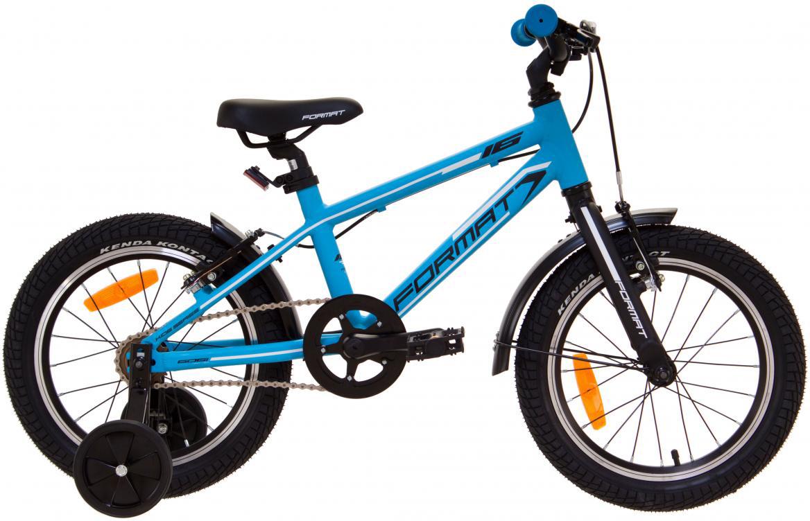 Велосипед детский Format Kids Boy (2017), цвет: синий, колесо 16 велосипед format kids girl 16 2017