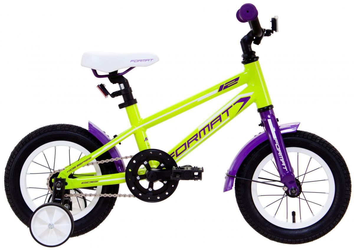 Велосипед детский Format Kids Girl (2017), цвет: желтый, колесо 12279292