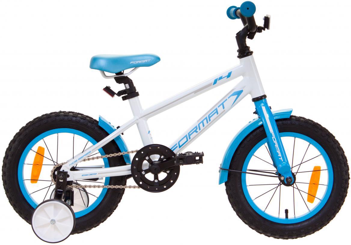 Велосипед детский Format Kids Girl (2017), цвет: белый, колесо 14 велосипед format kids girl 16 2017