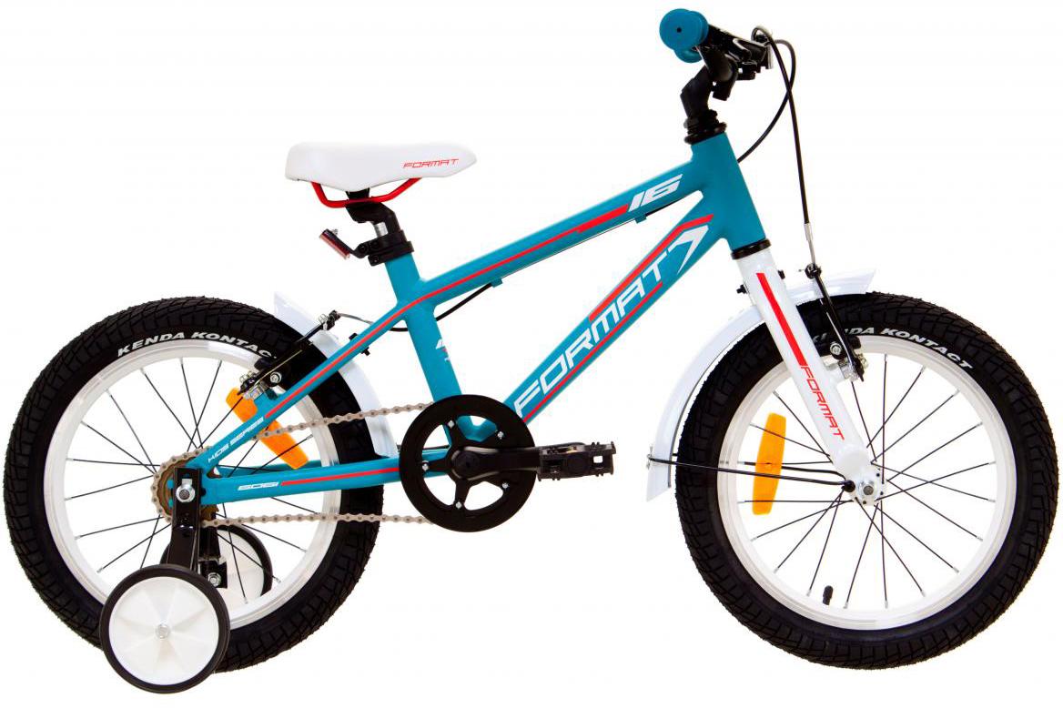 Велосипед детский Format Kids Girl (2017), цвет: голубой, колесо 16 велосипед format kids girl 16 2017