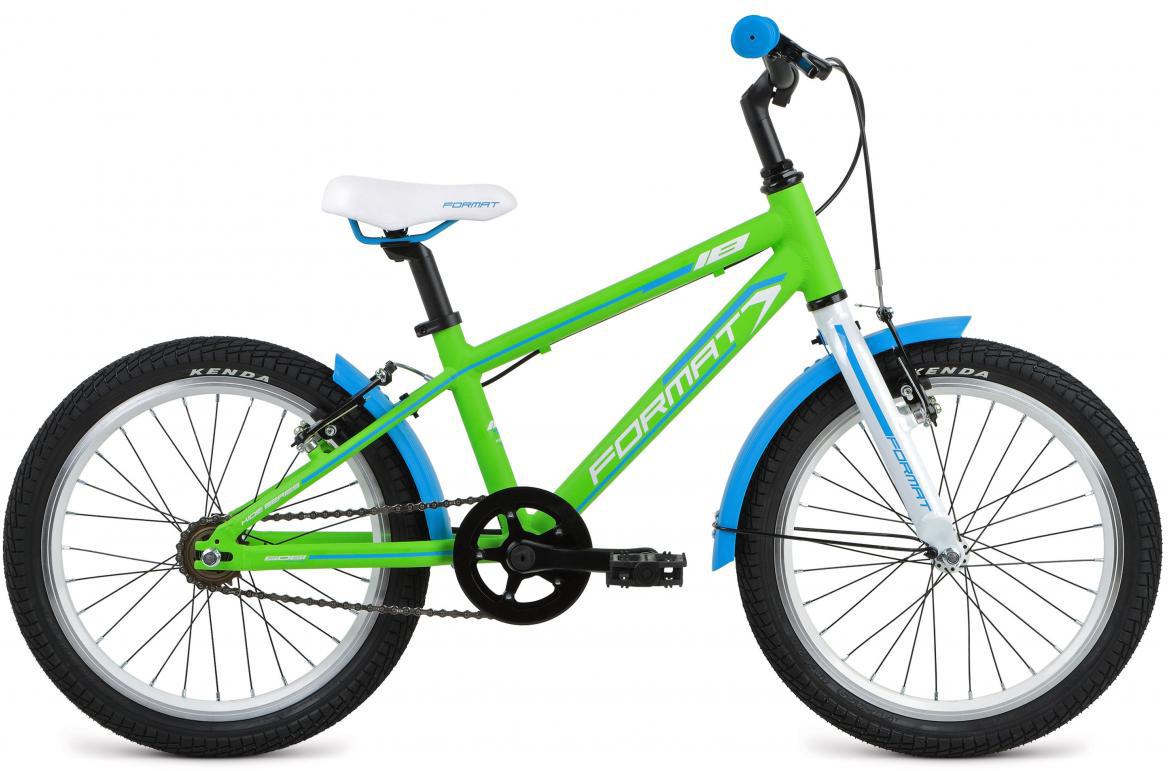 Велосипед детский Format Kids Girl (2017), цвет: зеленый, колесо 18 велосипед format kids girl 16 2017