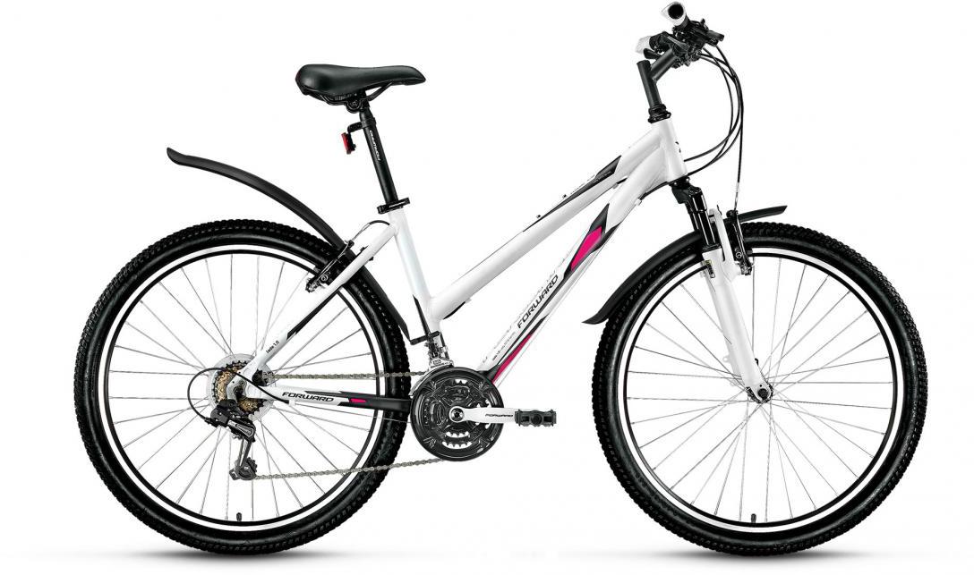 Велосипед горный Forward Jade 1.0 2016, цвет: белый, рама 15, колесо 26279297