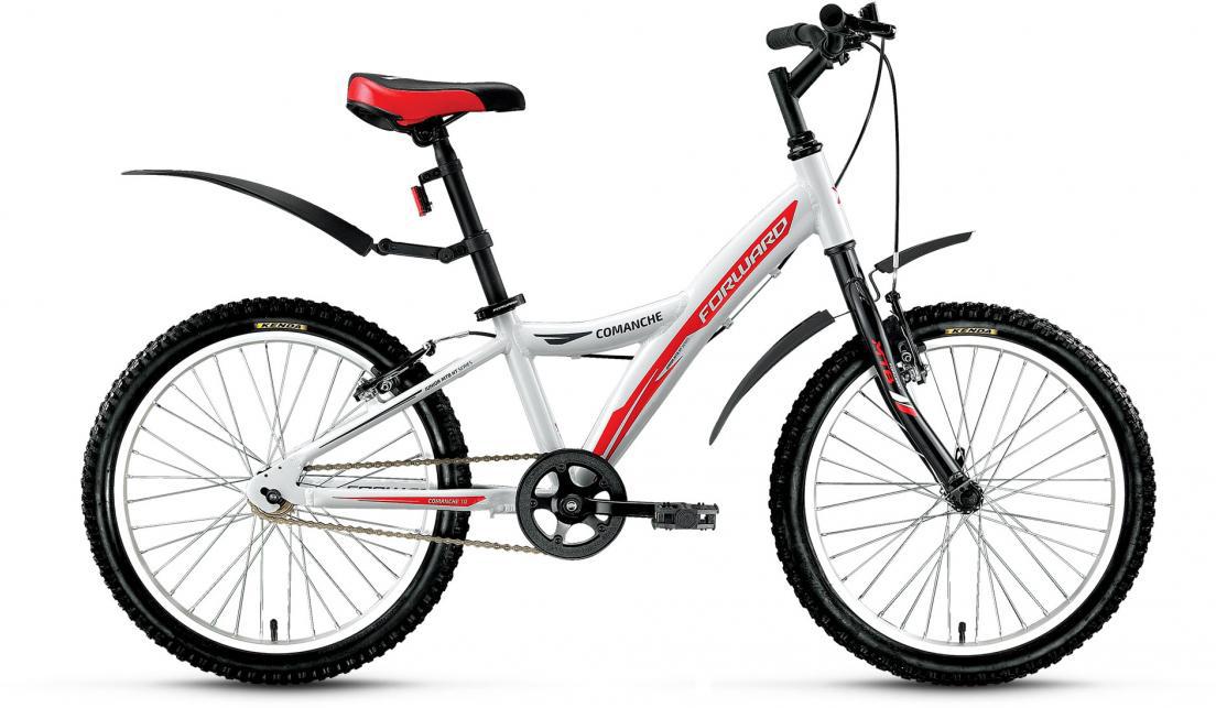 Велосипед детский Forward Comanche 1.0 2016, цвет: белый, рама 10,5, колесо 20 catherine anderson comanche magic