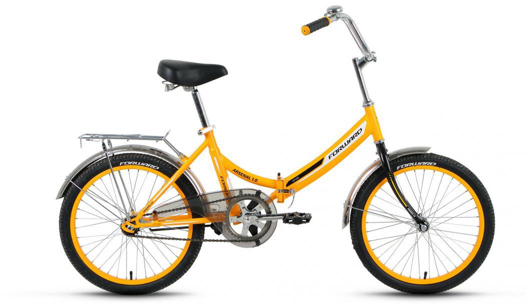 Велосипед детский Forward Arsenal 1.0 2016, цвет: желтый, рама 14, колесо 20279306