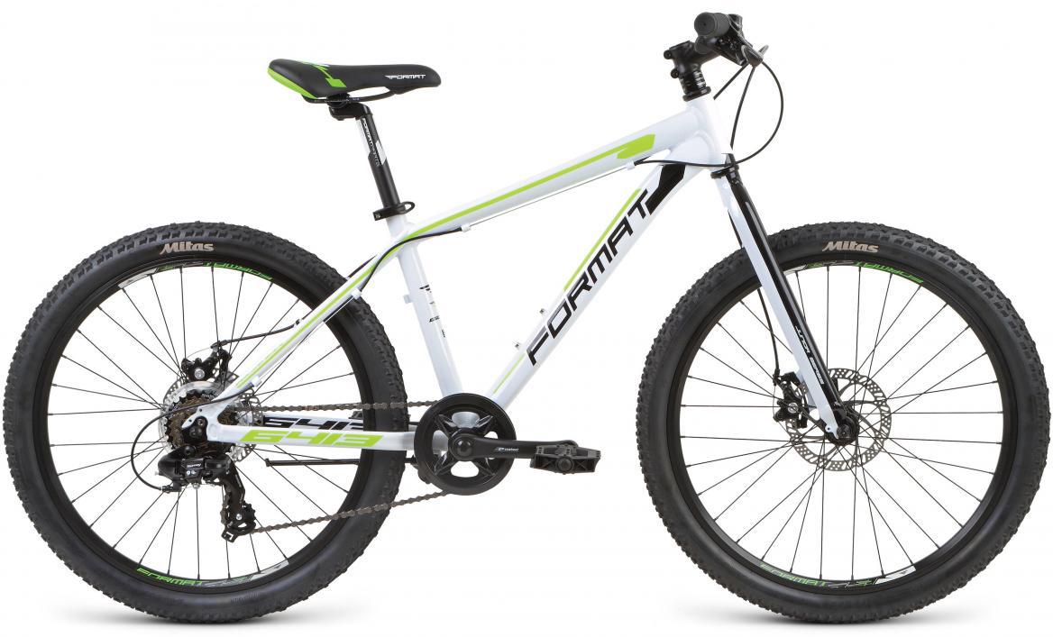 Велосипед детский Format 6413 Boy (2017), цвет: белый, колесо 24279652