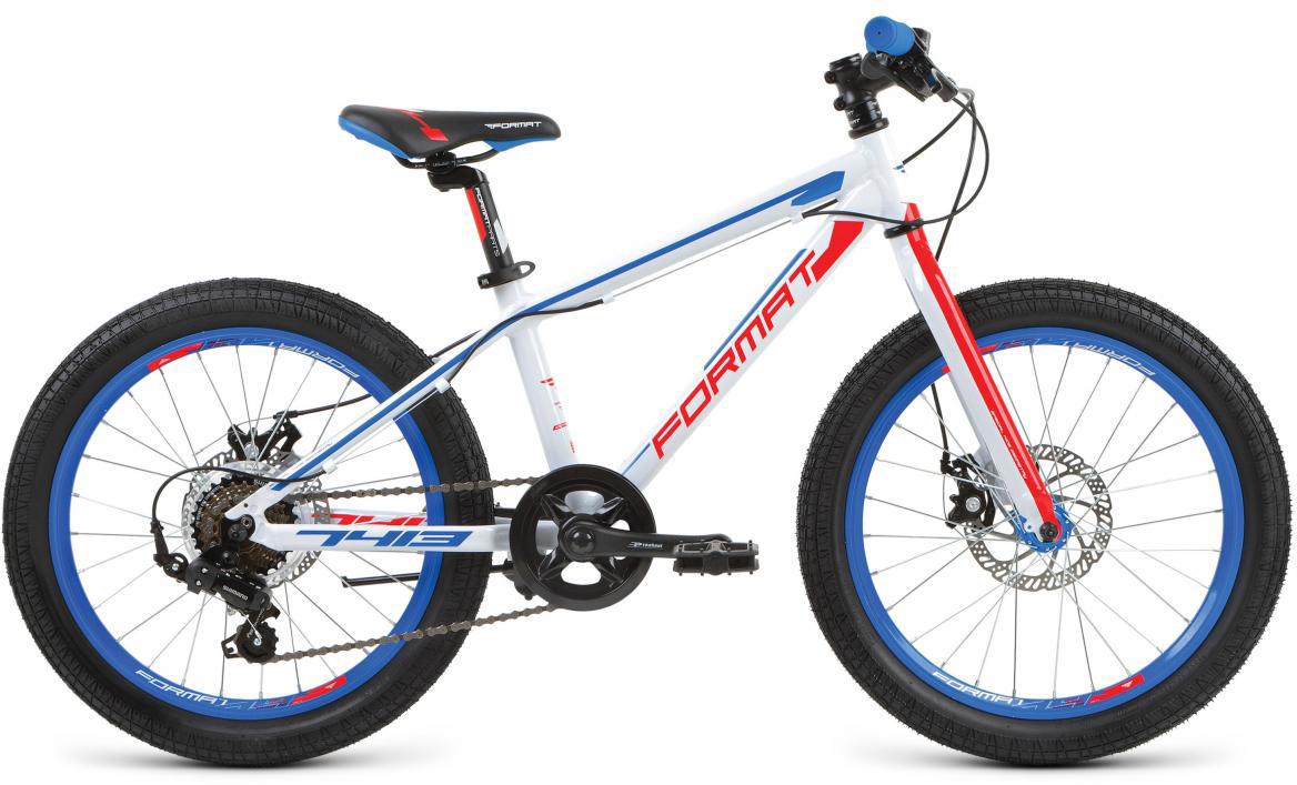 Велосипед детский Format 7413 Boy (2017), цвет: белый, колесо 20279656