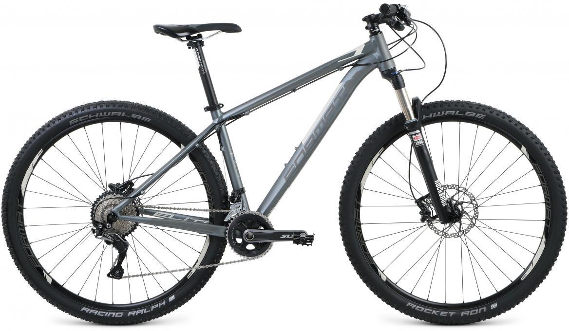 Велосипед горный Format 1212 Elite 29 (2017), цвет: серый, рама 18, колесо 29279699