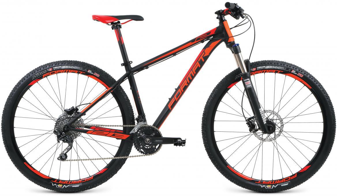 Велосипед горный Format 1213 (2017), цвет: черный, рама 18, колесо 29279705