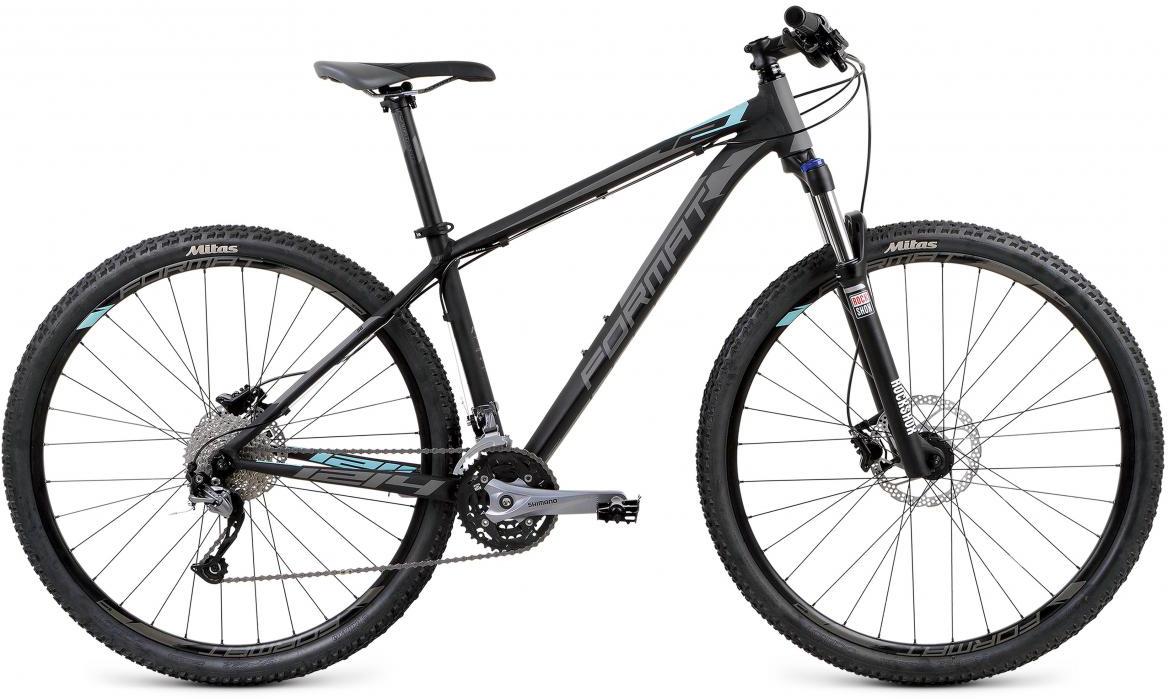 Велосипед горный Format 1214 (2017), цвет: черный, рама 16, колесо 29279711