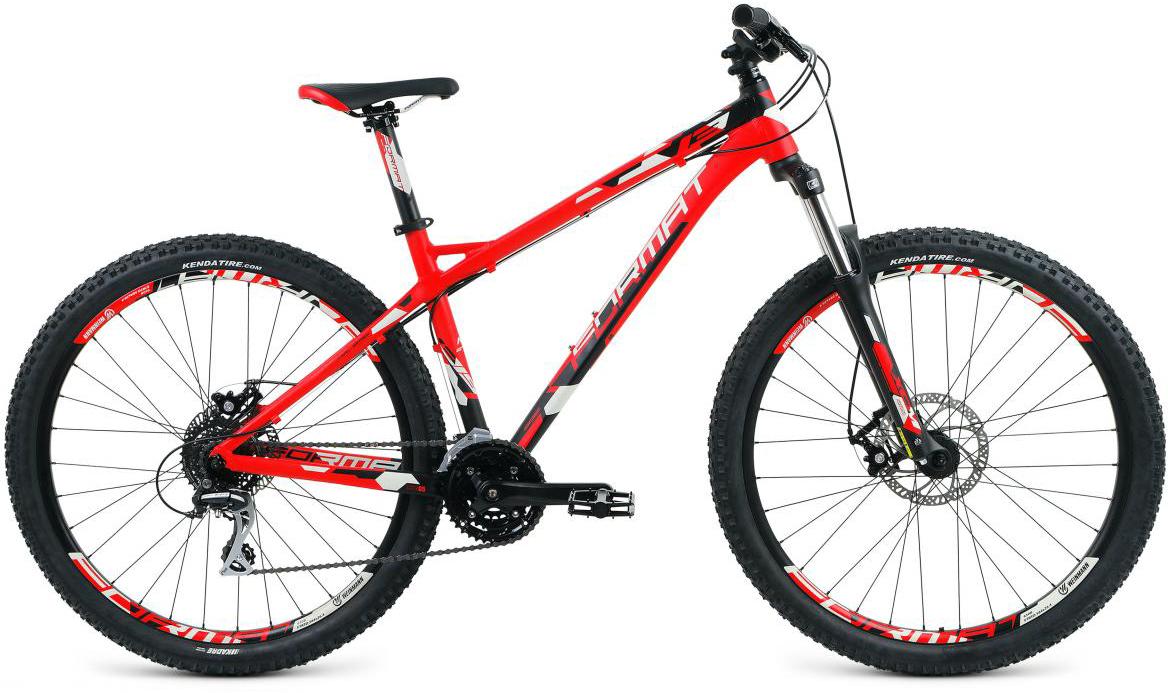 Велосипед горный Format 1315 (2017), цвет: красный, рама 22, колесо 27,5279726