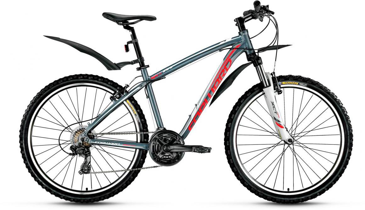 Велосипед горный Forward Agris 1.0 2017, цвет: серый, рама 19, колесо 26279749