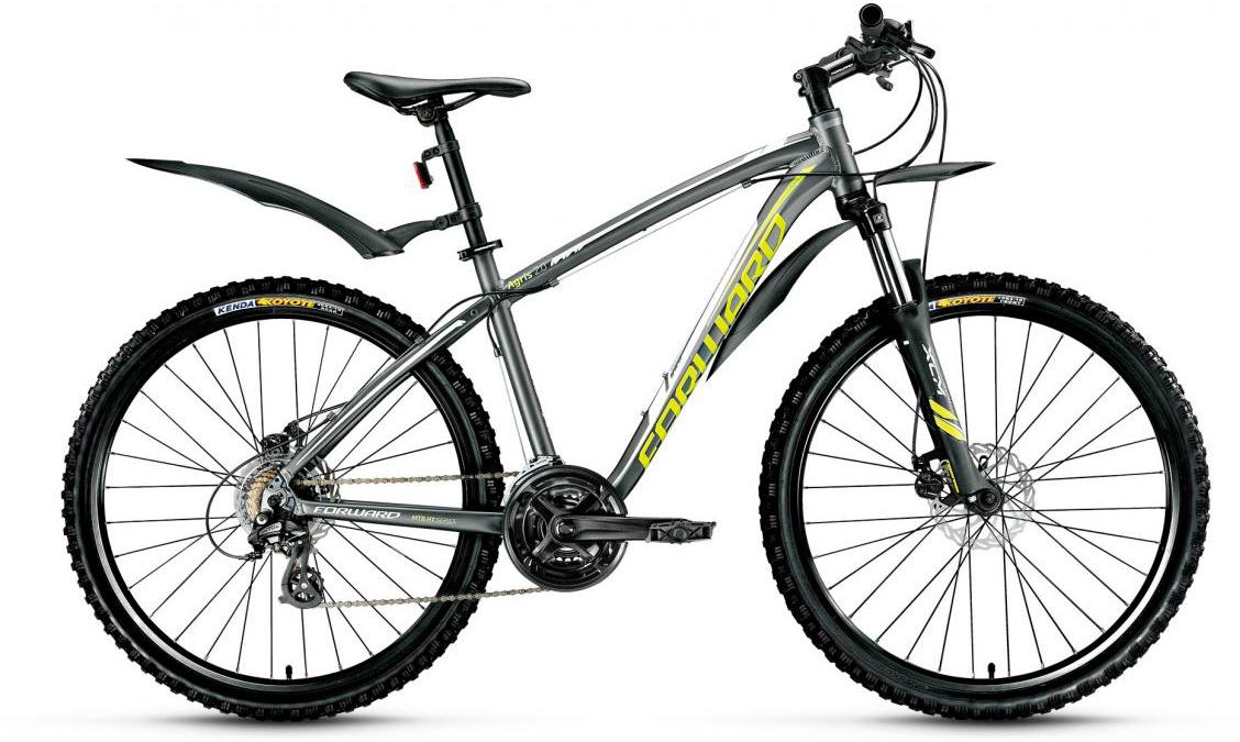Велосипед горный Forward Agris 2.0 2017, цвет: серый, рама 19, колесо 26279753