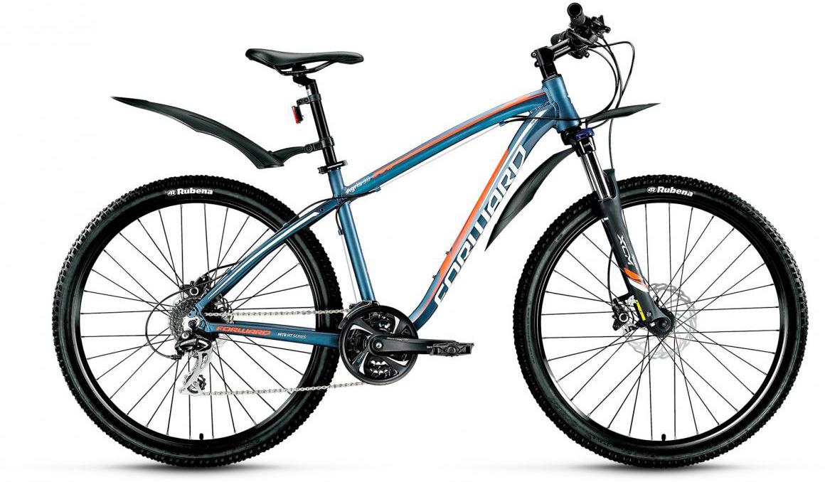 Велосипед горный Forward Agris 3.0 2017, цвет: синий, рама 17, колесо 27,5279756