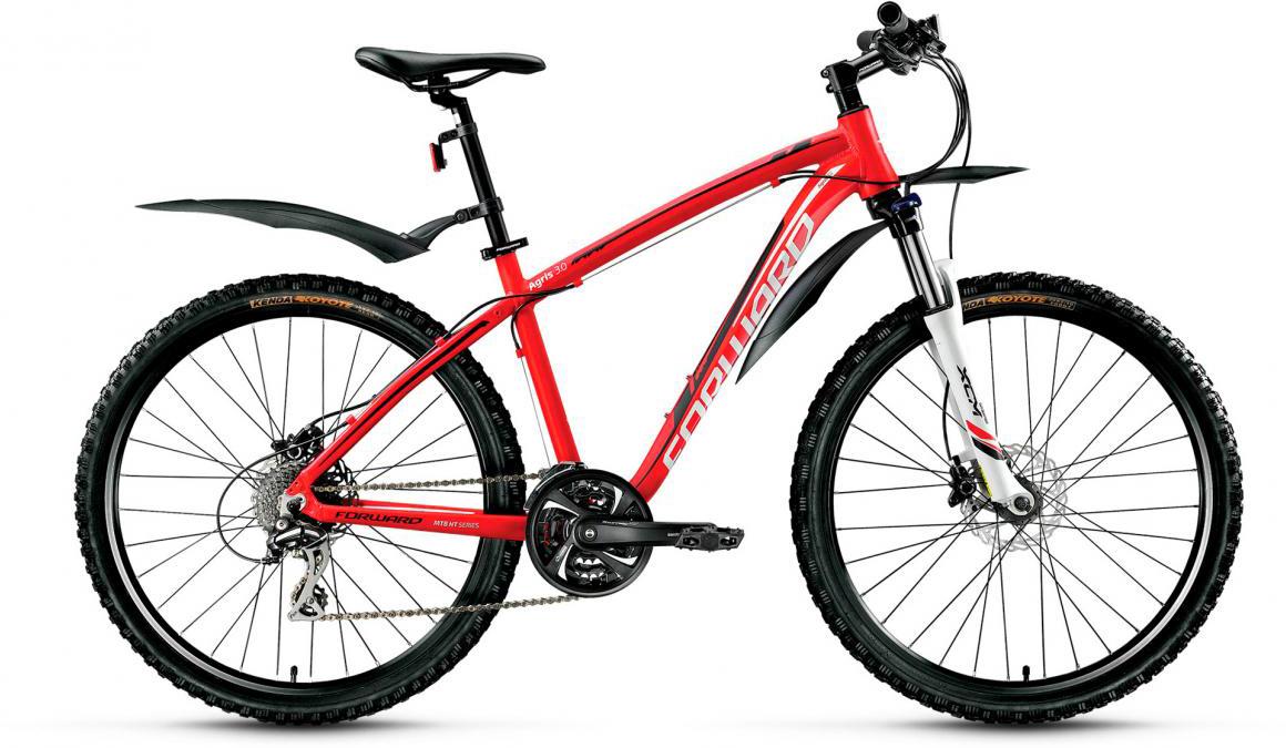 Велосипед горный Forward Agris 3.0 2017, цвет: красный, рама 17, колесо 26279760