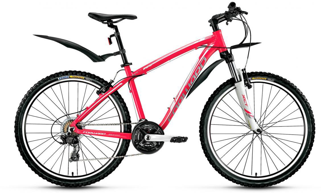 Велосипед горный Forward Agris Lady 1.0 2017, цвет: розовый, рама 17, колесо 26279765