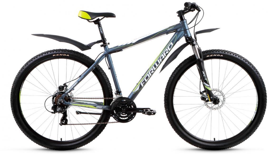 Велосипед горный Forward Apache 2.0 2017, цвет: серый, рама 21, колесо 29279784