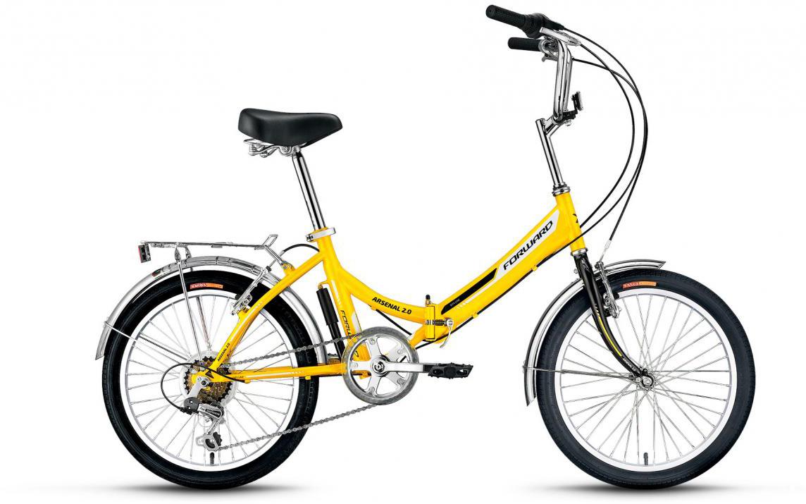 Велосипед детский Forward Arsenal 2.0 2017, цвет: желтый, рама 14, колесо 20279797