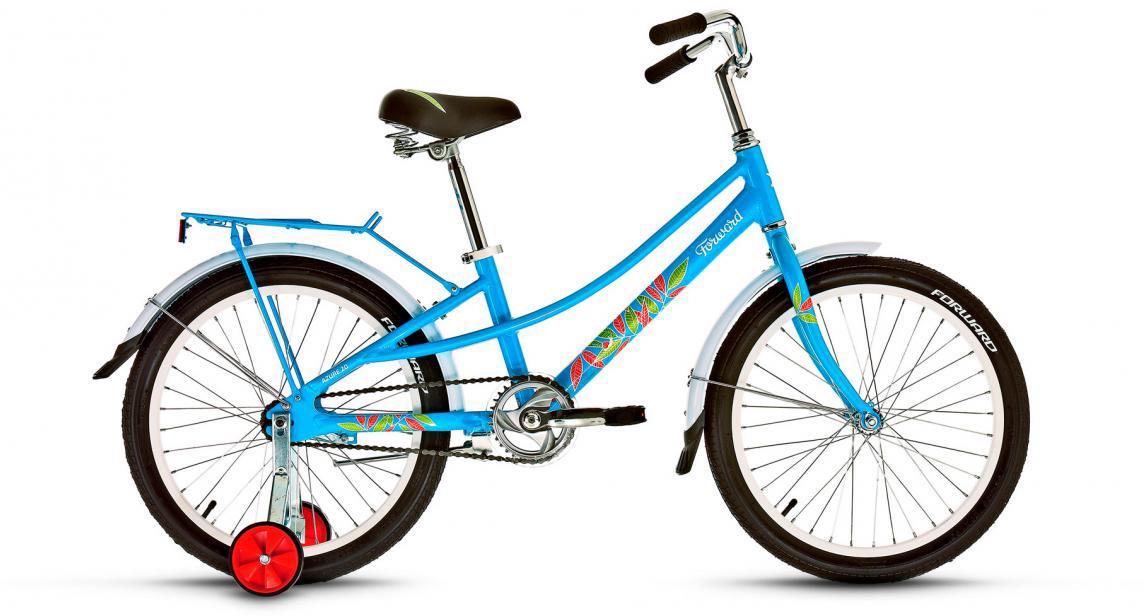 Велосипед детский Forward Azure 2017, цвет: голубой, колесо 20 велосипед forward azure 20 20 2016