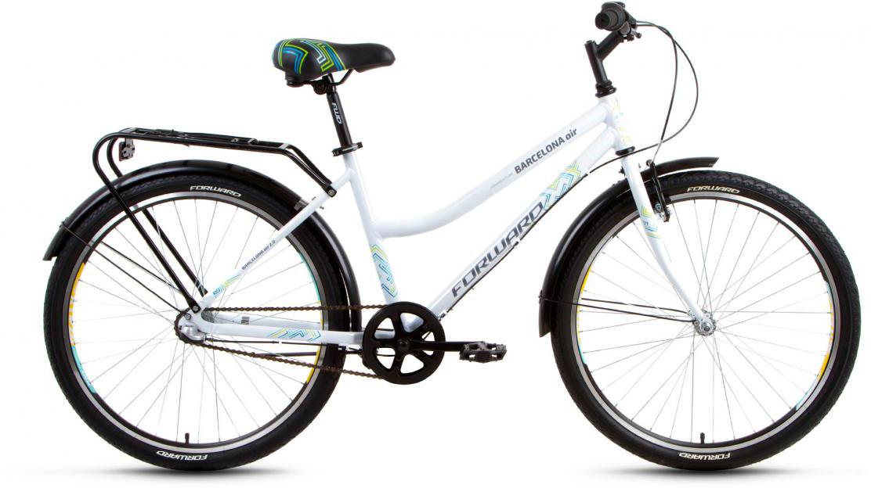 Велосипед городской Forward Barcelona Air 2.0 2017, цвет: белый, рама 17, колесо 26279818