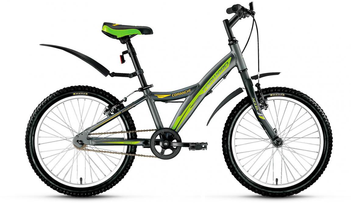 Велосипед детский Forward Comanche 1.0 2017, цвет: серый, рама 10,5, колесо 20279827
