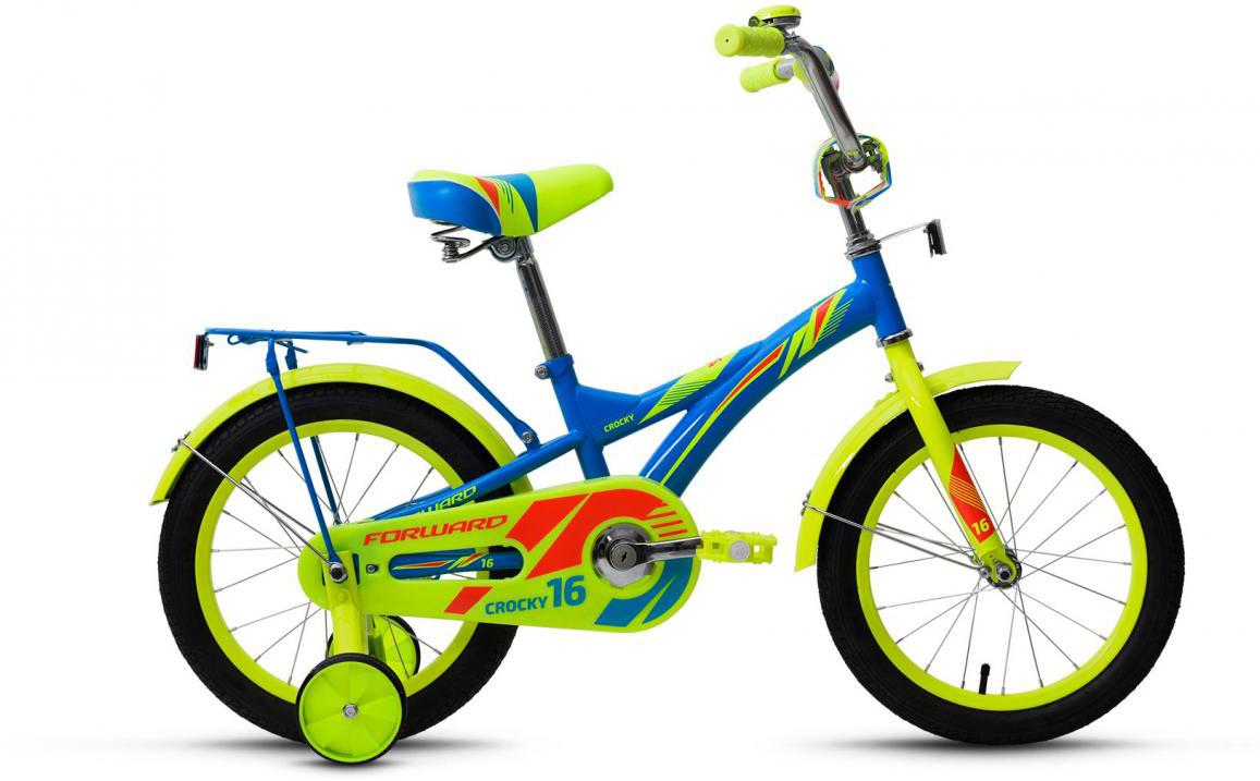 Велосипед детский Forward Crocky Boy 2017, цвет: синий, колесо 16279832
