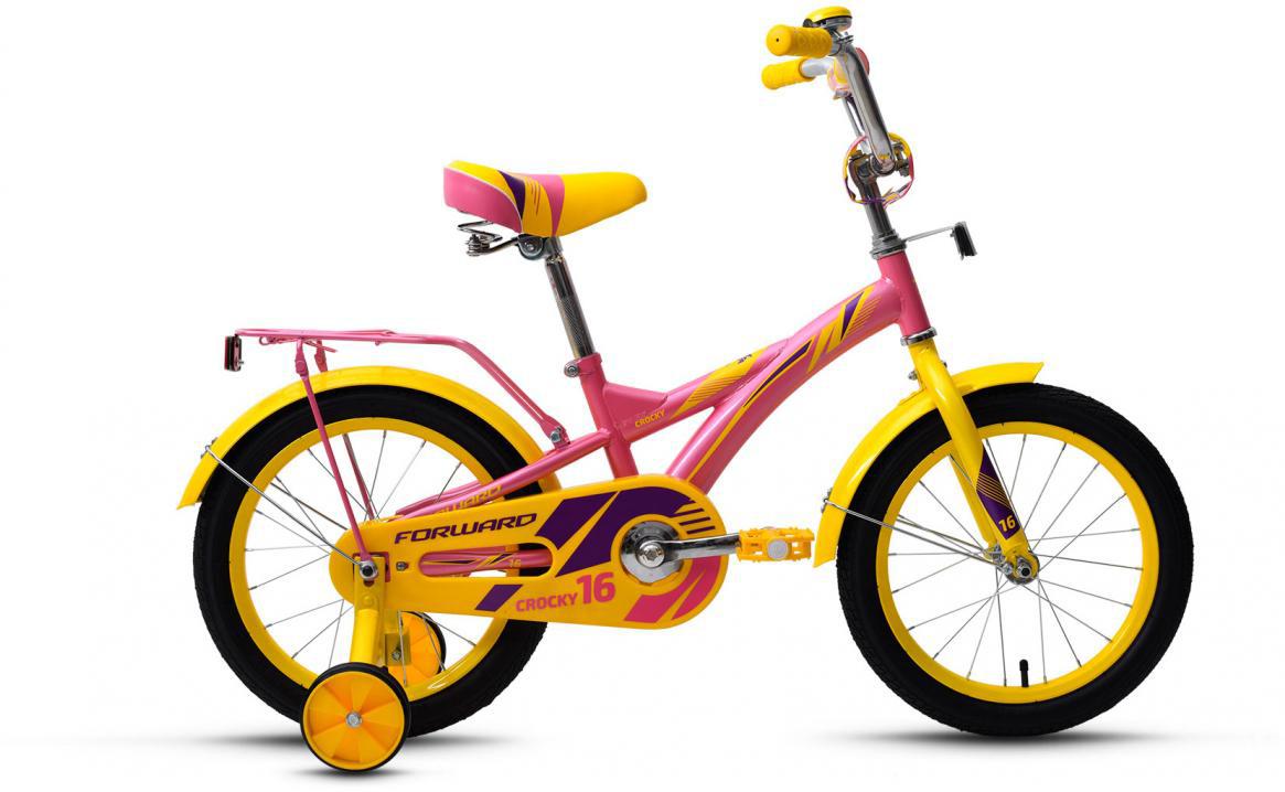 Велосипед детский Forward Crocky Girl 2017, цвет: розовый, колесо 16279835