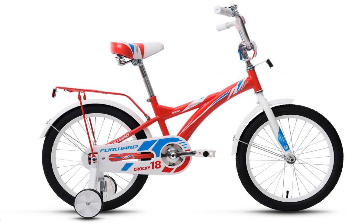 Велосипед детский Forward Crocky Boy 2017, цвет: красный, колесо 18279836