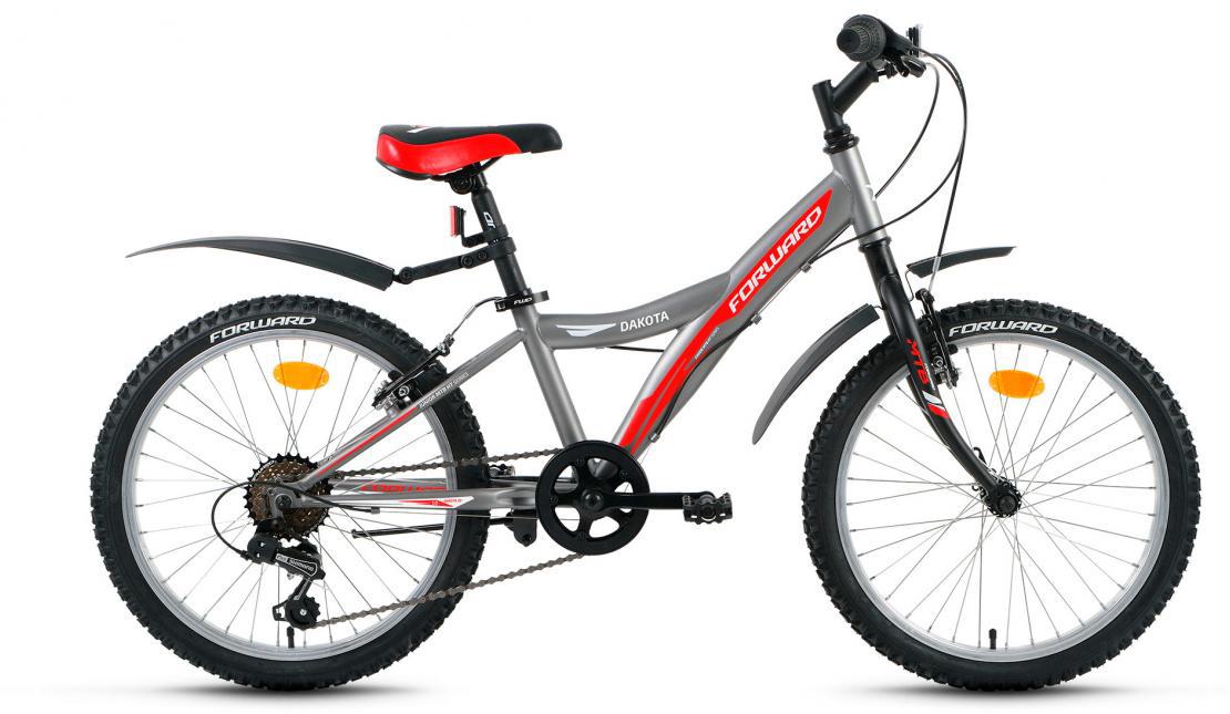 Велосипед детский Forward Dakota 1.0 2017, цвет: зеленый, рама 10,5, колесо 20279849
