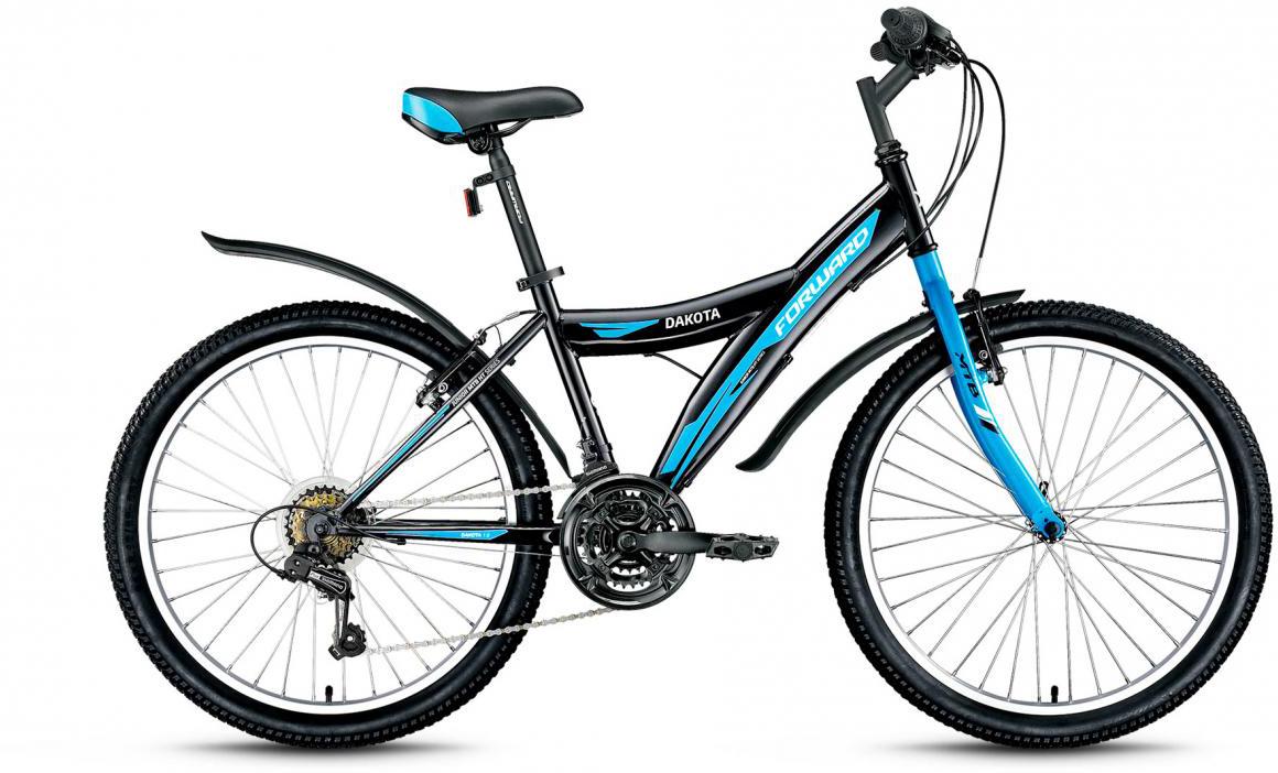 Велосипед детский Forward Dakota 1.0 2017, цвет: черный, рама 15, колесо 24279852