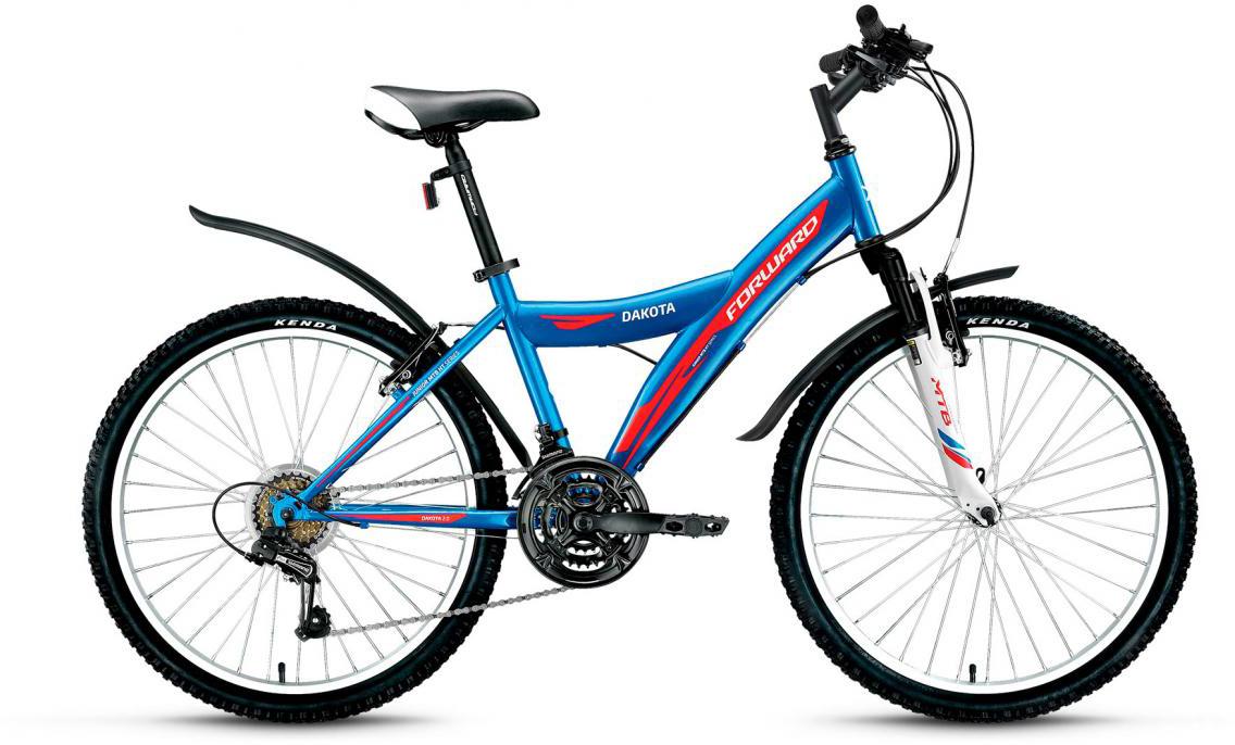 Велосипед детский Forward Dakota 2.0 2017, цвет: синий, рама 15, колесо 24279855