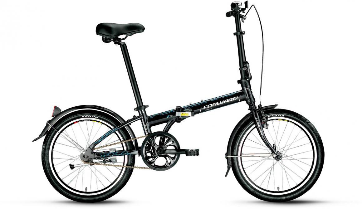 Велосипед детский Forward Enigma 1.0 2017, цвет: черный, рама 11, колесо 20279864