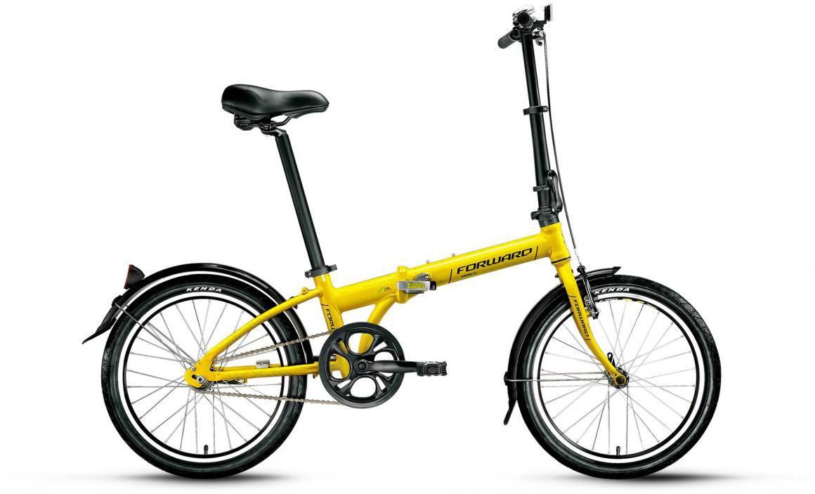 Велосипед детский Forward Enigma 1.0 2017, цвет: желтый, рама 11, колесо 20279865
