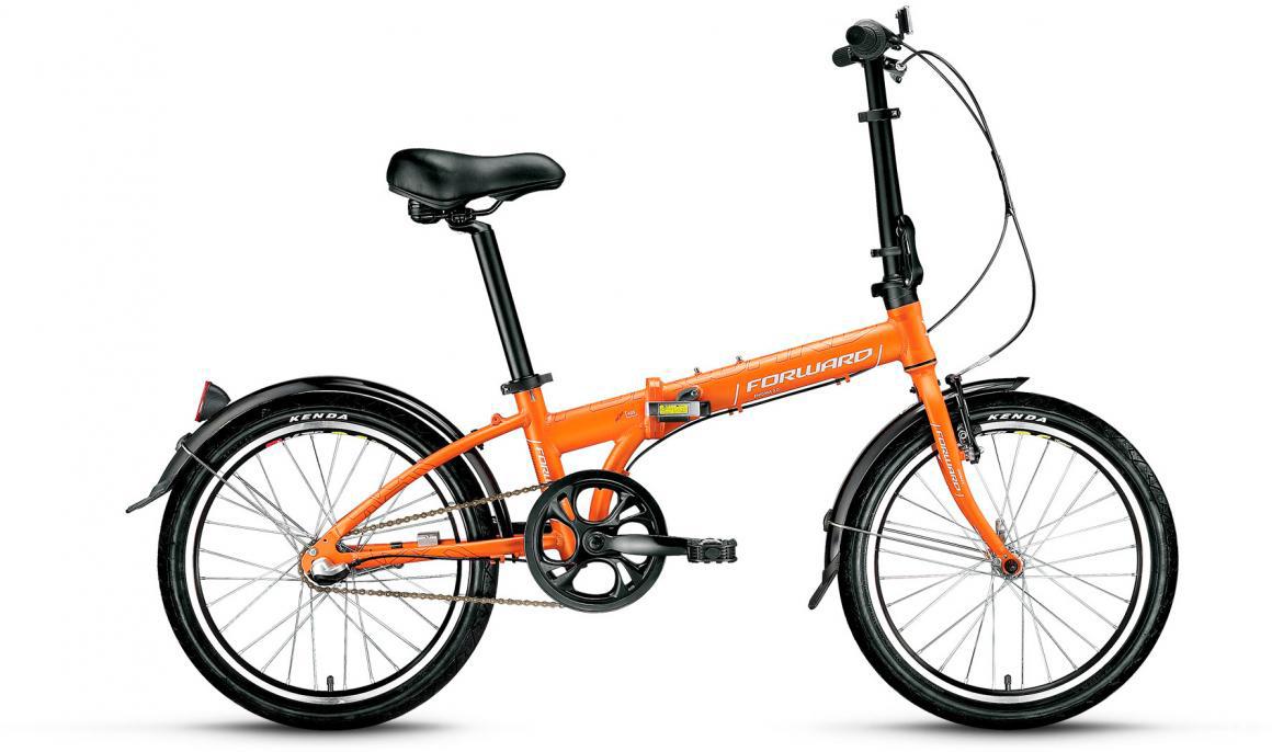 Велосипед детский Forward Enigma 3.0 2017, цвет: оранжевый, рама 11, колесо 20279869
