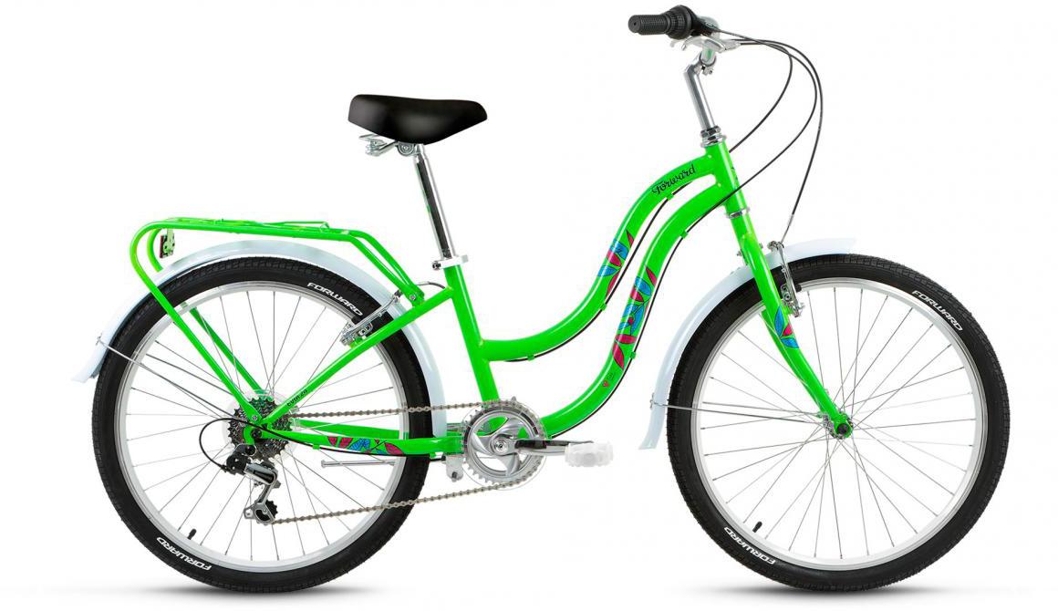 Велосипед детский Forward Evia 2017, цвет: зеленый, рама 13, колесо 24279873
