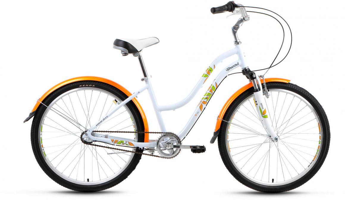 Велосипед городской Forward Evia Air 2.0 2017, цвет: белый, рама 16, колесо 26279881