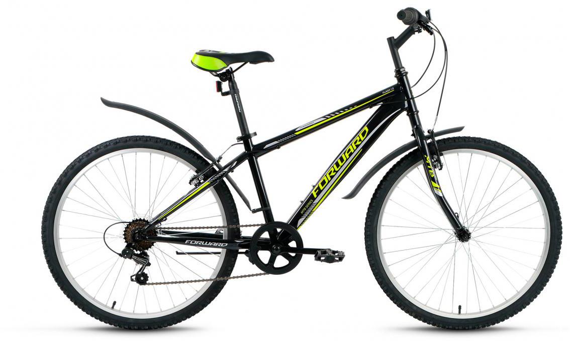 Велосипед горный Forward Flash 1.0 2017, цвет: черный, рама 15,5, колесо 26279886