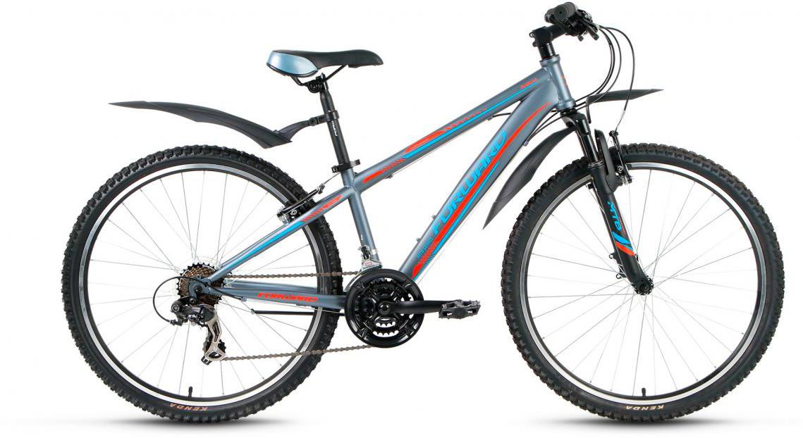 Велосипед горный Forward Flash 3.0 2017, цвет: серый, рама 17,5, колесо 26279893