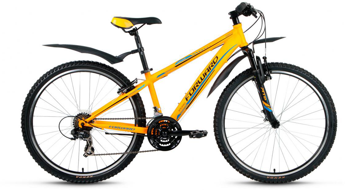 Велосипед горный Forward Flash 3.0 2017, цвет: желтый, рама 15,5, колесо 26279894