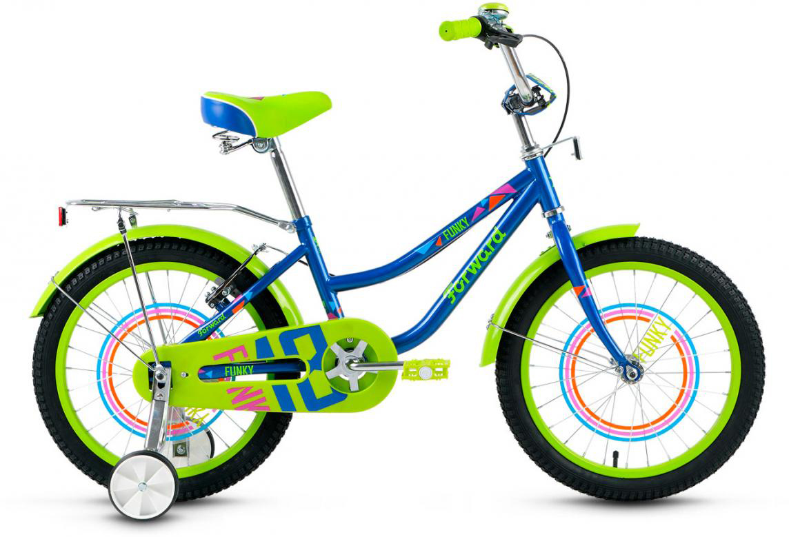 Велосипед детский Forward Funky Boy 2017, цвет: желтый, колесо 18279909