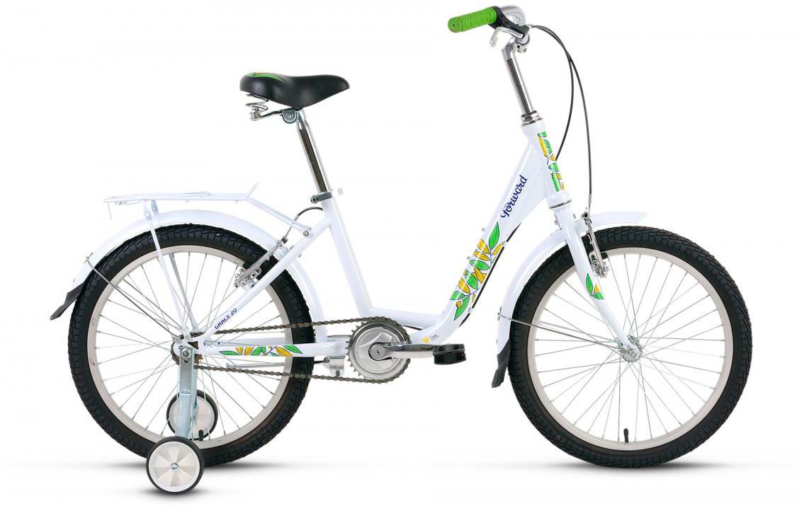 Велосипед детский Forward Grace 2017, цвет: белый, рама 13, колесо 20 велосипед forward grace 20 20 2016