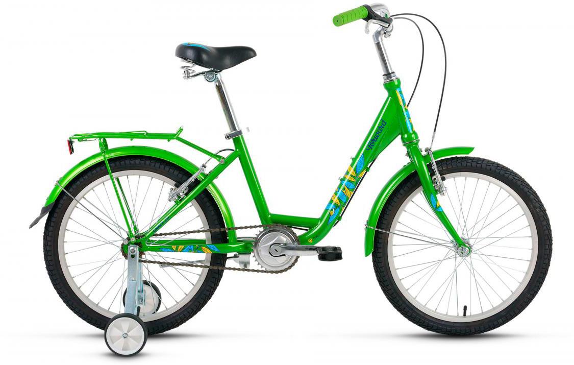 Велосипед детский Forward Grace 2017, цвет: зеленый, рама 13, колесо 20 велосипед forward grace 20 20 2016