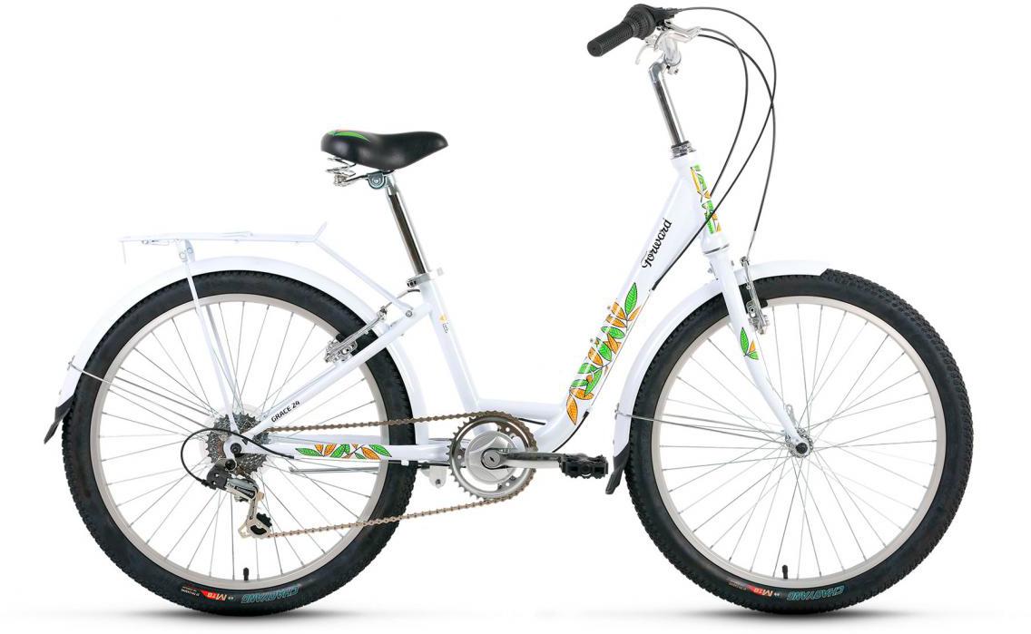 Велосипед детский Forward Grace 2017, цвет: белый, рама 13, колесо 24279915