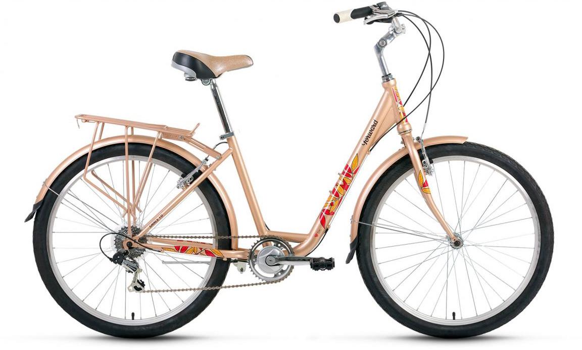 Велосипед городской Forward Grace 1.0 2017, цвет: желтый, рама 17, колесо 26279916