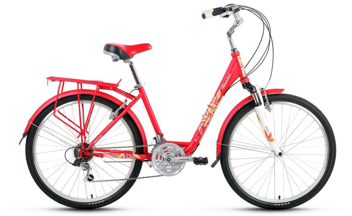 Велосипед городской Forward Grace 2.0 2017, цвет: красный, рама 17, колесо 26279918
