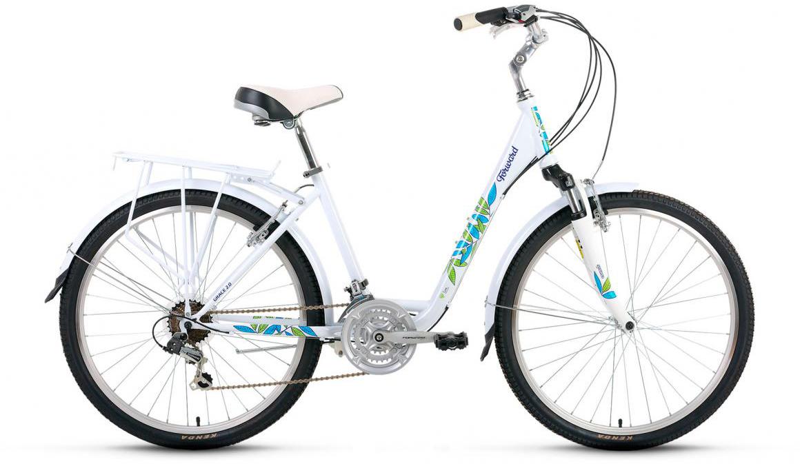 Велосипед городской Forward Grace 2.0 2017, цвет: белый, рама 17, колесо 26279919
